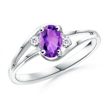 Cubic Zirconia Sterling Silver Jaipur Ring