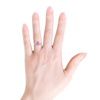 Cubic Zirconia Sterling Silver Mumbai Ring