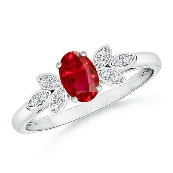 Cubic Zirconia Sterling Silver Lalita Ring