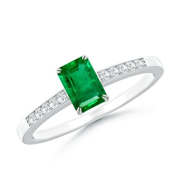 Cubic Zirconia Sterling Silver Shamika Ring
