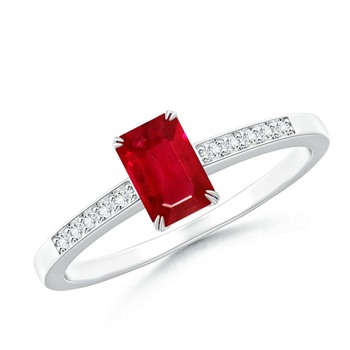 Cubic Zirconia Sterling Silver Swapna Ring