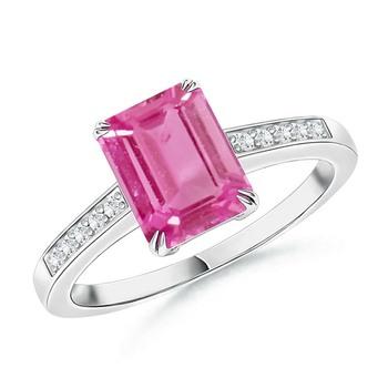 Cubic Zirconia Sterling Silver Sadhna Ring