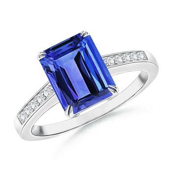 Cubic Zirconia Sterling Silver Sangita Ring