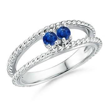 Cubic Zirconia Sterling Silver Priyanka Ring