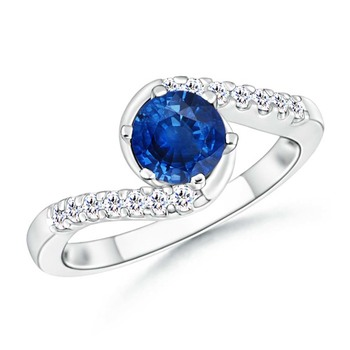 Cubic Zirconia Sterling Silver Amisha Ring