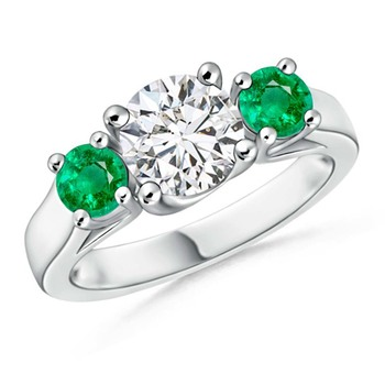 Cubic Zirconia Sterling Silver Shamiksha Ring