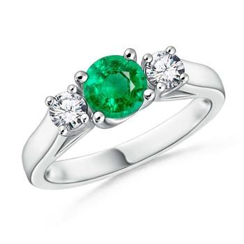 Cubic Zirconia Sterling Silver Mrunalini Ring