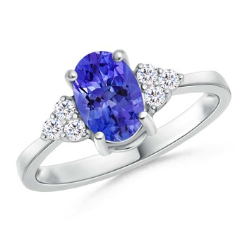 Cubic Zirconia Sterling Silver Nisha Ring