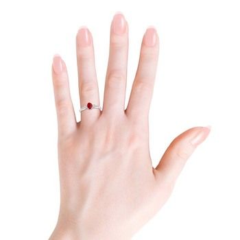 Cubic Zirconia Sterling Silver Vishakha Ring