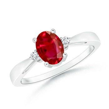 Cubic Zirconia Sterling Silver Nandini Ring