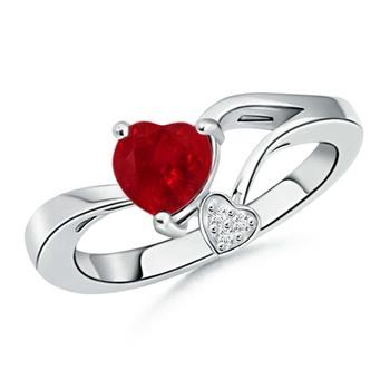 Cubic Zirconia Sterling Silver Namrata Ring