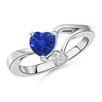Cubic Zirconia Sterling Silver Supriya Ring