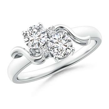 Cubic Zirconia Sterling Silver Kolkatta Ring