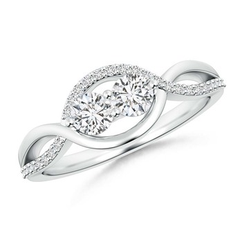 Cubic Zirconia Sterling Silver Kavay Ring