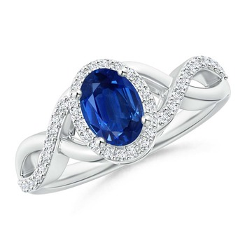 Cubic Zirconia Sterling Silver Rashi Ring