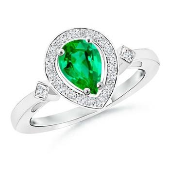 Cubic Zirconia Sterling Silver Sakshi Ring