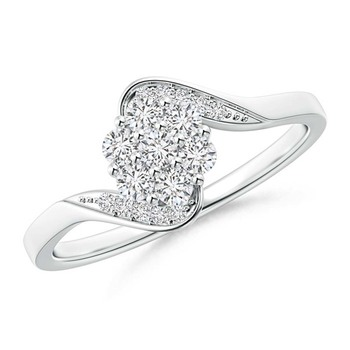 Cubic Zirconia Sterling Silver Aarchi Ring
