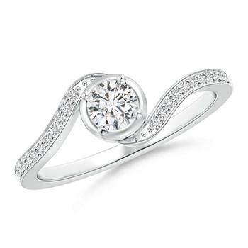 Cubic Zirconia Sterling Silver Parthavi Ring
