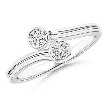 Cubic Zirconia Sterling Silver Pranu Ring
