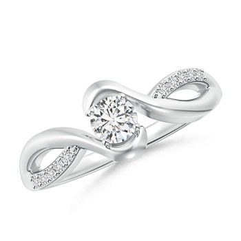 Cubic Zirconia Sterling Silver Kirti Ring