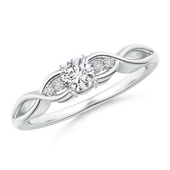 Cubic Zirconia Sterling Silver Rajastan Ring