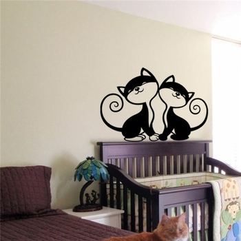 Love Cats wall decal