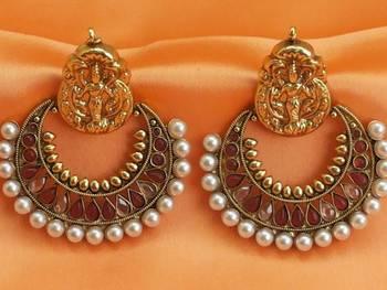 lovely ram leela earrings