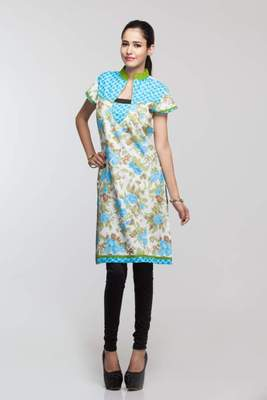Avishi Designer Multi Color Kurta