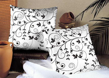 Monochronatic Jaal Cushion Cover set