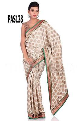 Classy impression saree