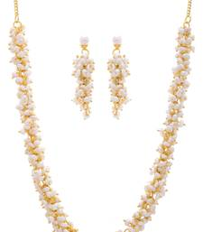 REAL PEARLS NECKLACE SET FROM HYDERABAD(LOOSER SET)
