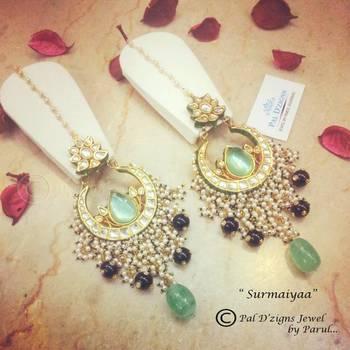 Surmaiyaa fluorite earings