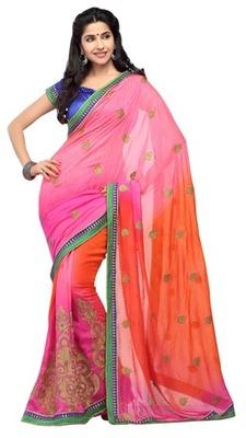 Triveni Chraming Traditional Embroidered Party Saree TSXRI1711