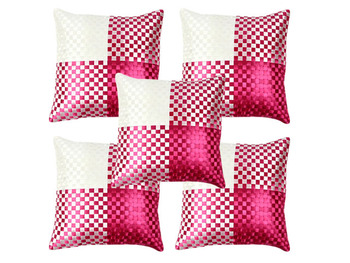 Amazing Pink Cushion Covers- Set of 5