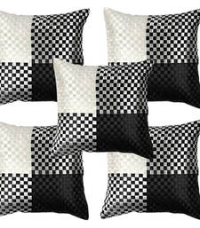 Black N White Cushion Covers-Set of 5
