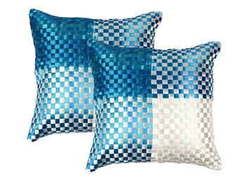 Polysilk Cushion Cover- Set of 2