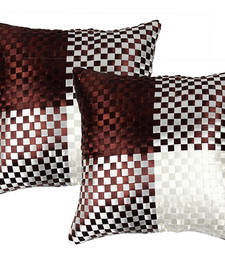 Buy Brown Cushion Cover - Set of 2 other-home-furnishing online