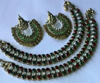 earrings anklets