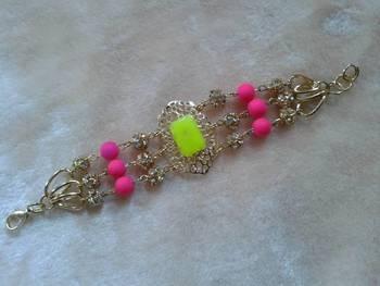 fancy antic heavy bracelate