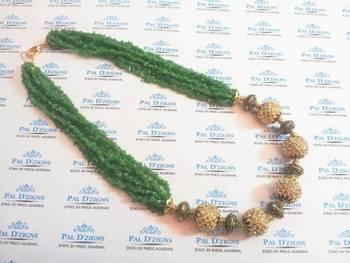 Tibetian Peridot String