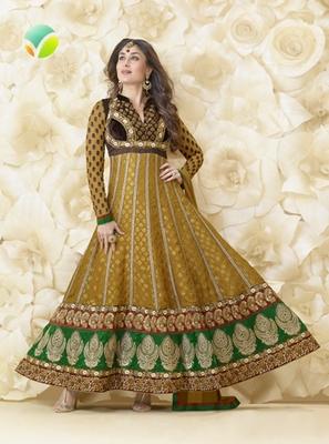 brown Salwar kameez