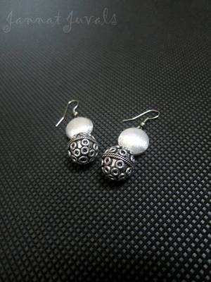 Cute Silver Earrings
