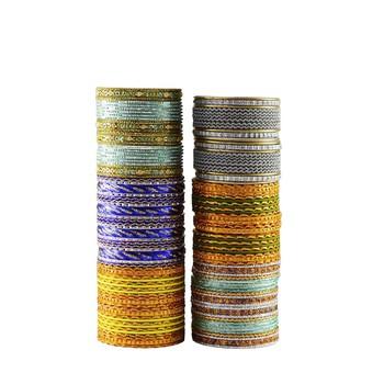 Multi Color Metal Bangle