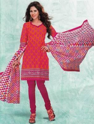 Dress material cotton designer prints unstitched salwar kameez suit d.no 4403