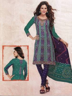 Dress material cotton designer prints unstitched salwar kameez suit d.no 4415