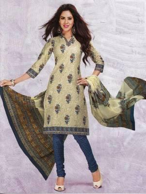 Dress material cotton designer prints unstitched salwar kameez suit d.no 4417