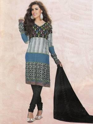 Dress material cotton designer prints unstitched salwar kameez suit d.no 4419