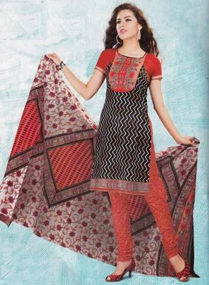 Dress material cotton designer prints unstitched salwar kameez suit d.no 4422