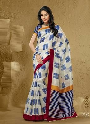 Brasso Bhagalpuri Khadi Silk