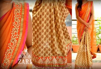 Grateful designer saree